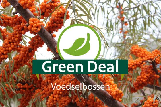 Green Deal Voedselbossen ondertekend