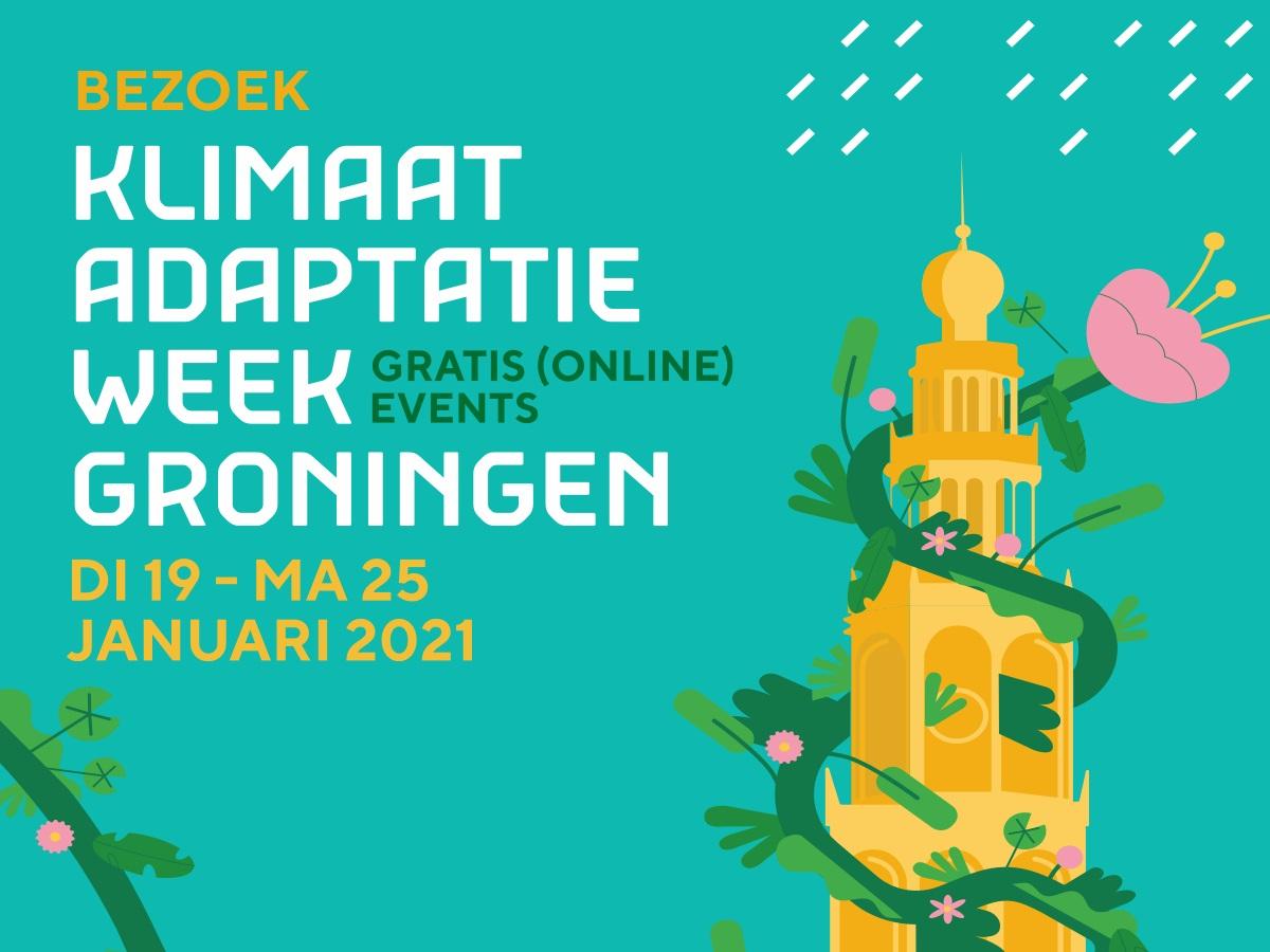 Klimaatadaptatieweek Groningen: vol virtuele internationale events met inspiratie, kennis en oplossingen