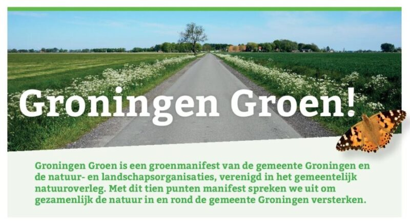 Manifest Groningen Groen!