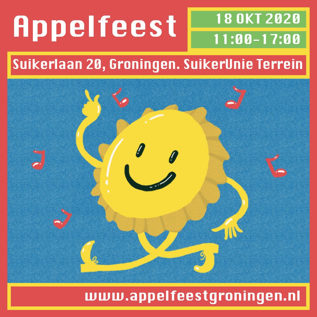 18 oktober: geen Appelfeest Groningen!