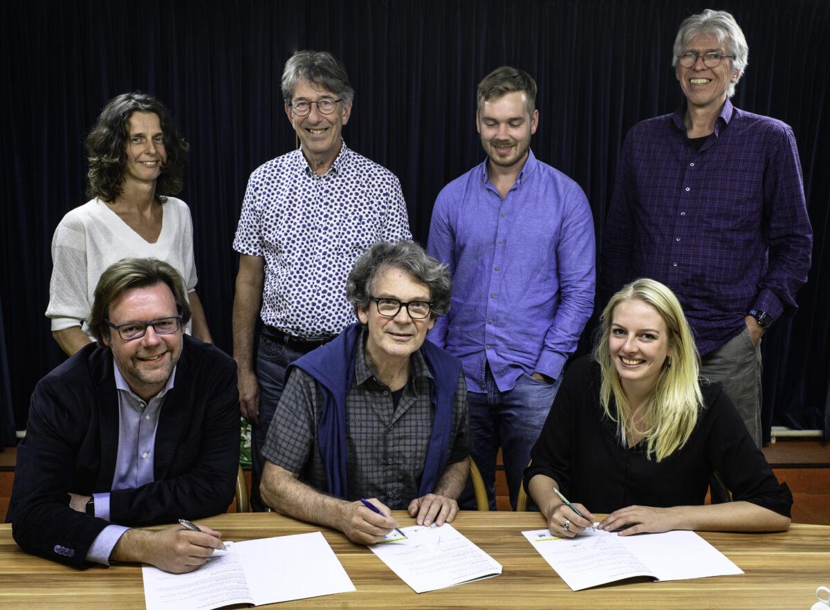Feestelijke ondertekening WijkEnergieplan Oosterpoort
